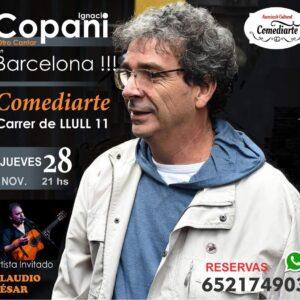 ignacio copani en barcelona